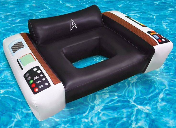 Star Trek Captains Chair Pool Float By Big Mouth