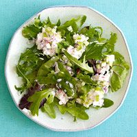 Mixed Greens with Seafood Salad http://www.familycircle.com/recipe/seafood/mixed-greens-with-seafood-salad/