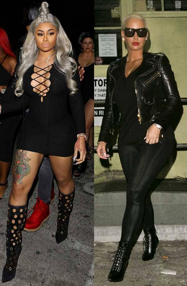 Amber Rose and Blac Chyna filming show with Scott Disick & Tyga? - http://wp.me/p4MFYY-L3N