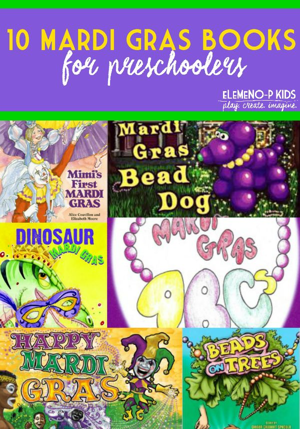 Mardi Gras Books for preschoolers