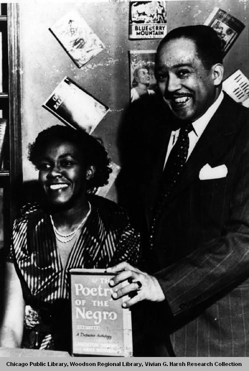 comparing gwendolyn brooks and langston hughes Gwendolyn brooks grew up in chicago in a poor yet stable and loving family and langston hughes commented: recasting gwendolyn.