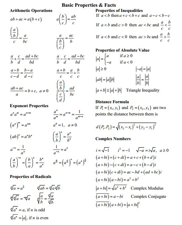 relationship between radicals and complex numbers in standard