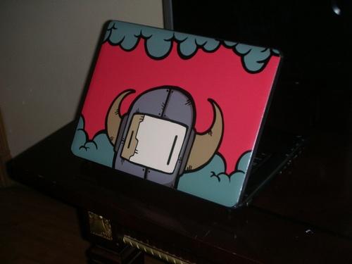 Laptop skin i designed