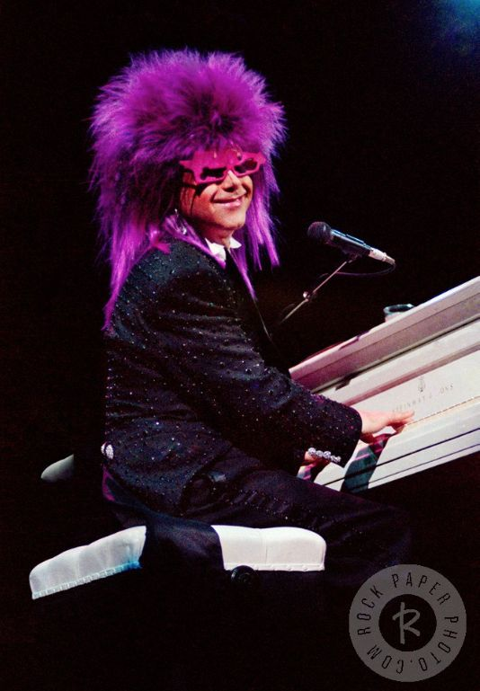Elton John - I guess that's why they call it the blues - what a character... Lol