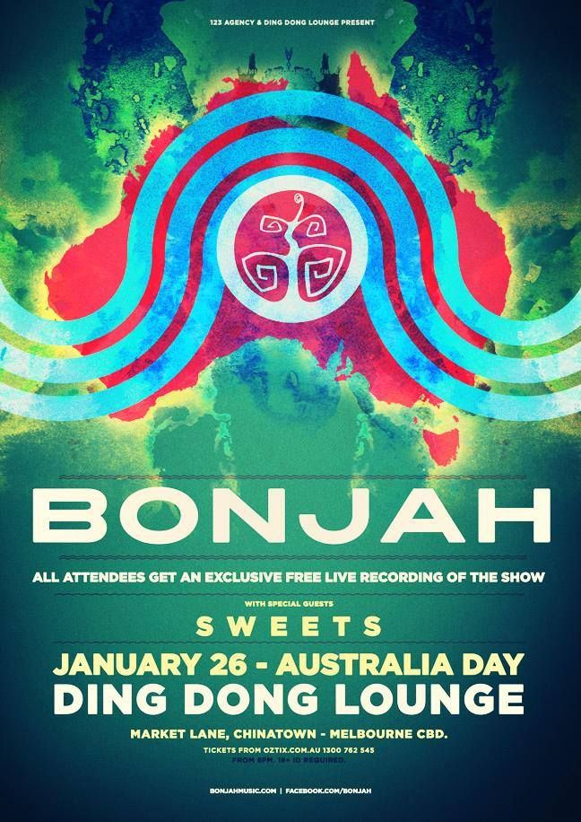 Australia Day show with Bonjah @ Dong Dong Lounge