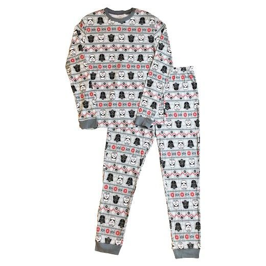 With the help of the Dark Side, you can make this season merry and bright! The Star Wars™ 2-piece Pajama Set lets you show off your family's favorite franchise with comfort and style. These fun Star Wars pajamas are part of the Star Wars Family Pajama Collection, so your whole house can take part in a holiday season that's out of this galaxy. These Star Wars PJs make the perfect gear for snuggling together on the couch for an all-night movie marathon, and then launching into ...