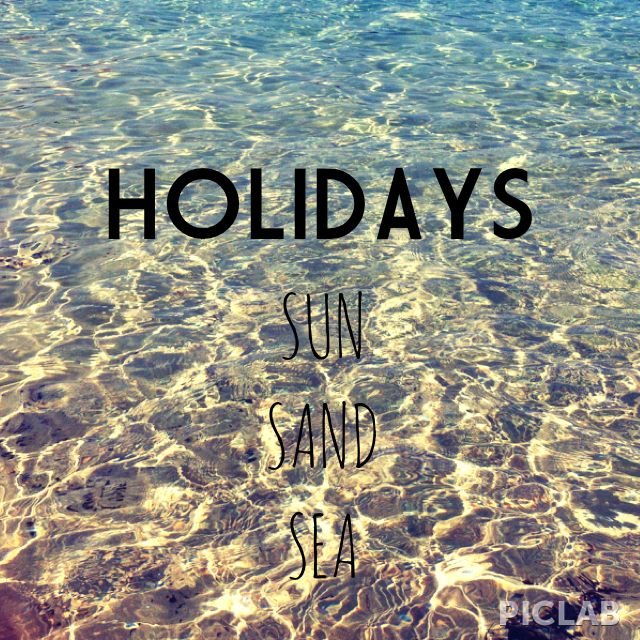 summer holidays miss holiday at beach nice quotes