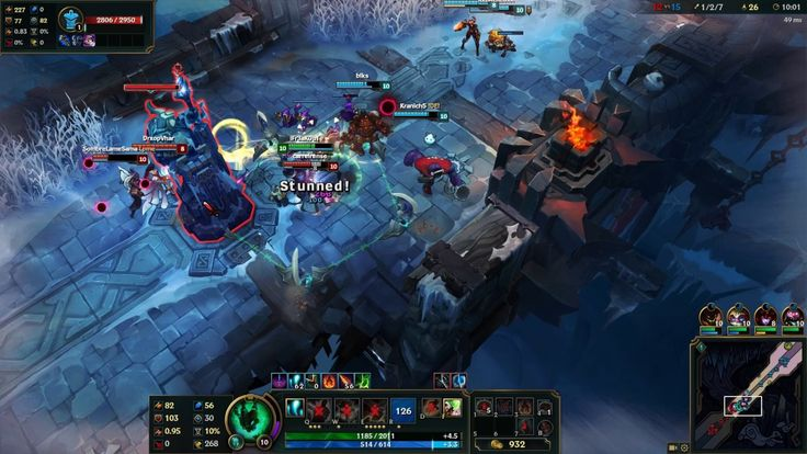 League of Legends - Aram 5v5   Thresh Gameplay