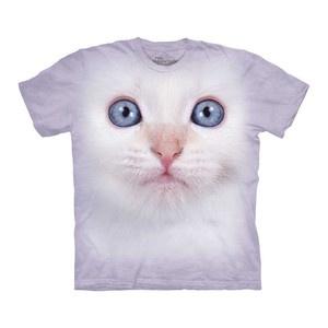 White Kitten T-Shirt