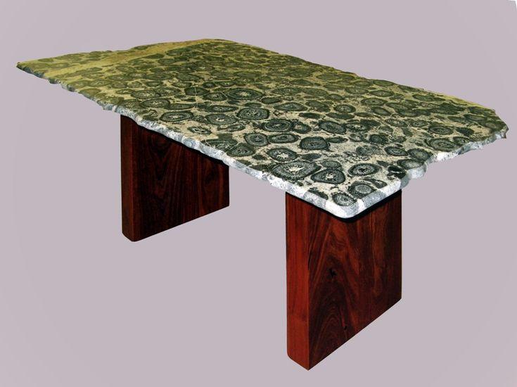 Orbicular Granite Dining Table