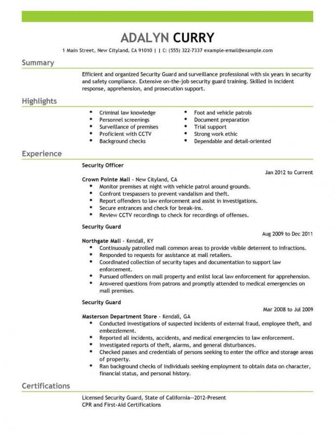 Security Guard Resume Check More At Https Cleverhippo Org Security Guard Resume Security Guard Jobs Resume Examples Job Resume Samples