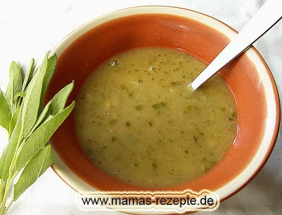 Rezept Französische Salbeisoße auf Mamas Rezepte Homepage