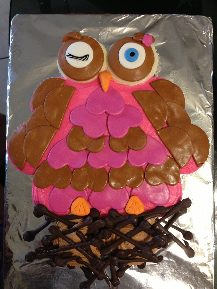 32 Best Images About Cupcake Cakes On Pinterest Happy