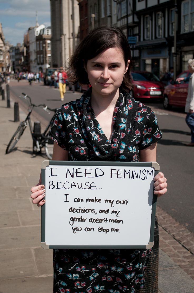 """CUSU Women's Campaign team up with ARU Feminist Society to bring you: """"I need feminism because..."""""""