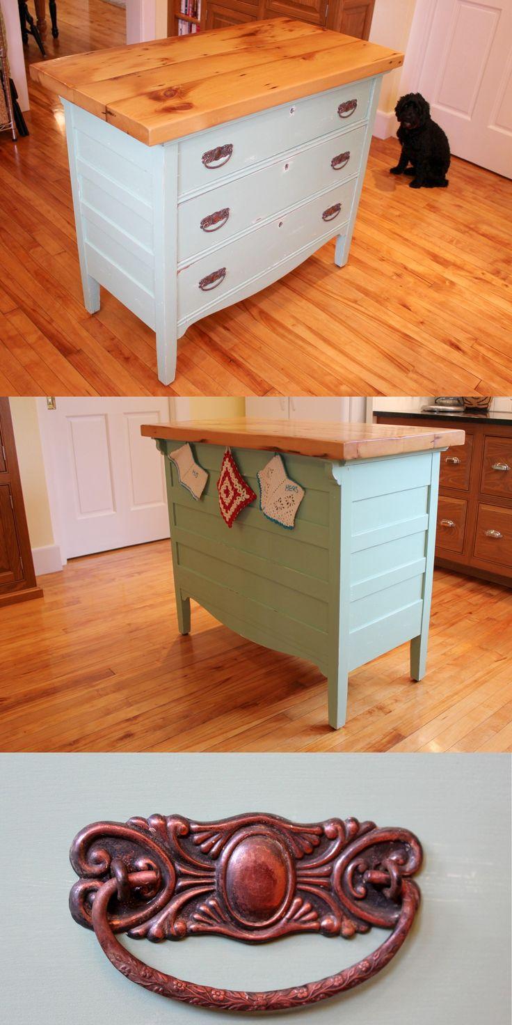 Diy Kitchen Island From Dresser Best 25 Dresser Kitchen Island Ideas On Pinterest  Diy Old