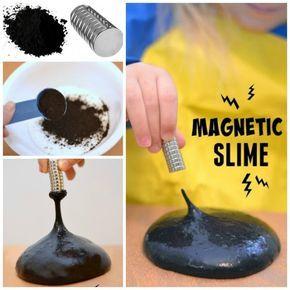 Magnetischen Schleim selber machen - DIY Experimente