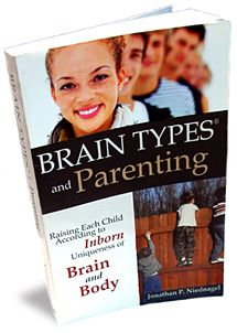"[FAV] ""Brain Types and Parenting"" by Jon Niednagel - Great book beginning to learn about Brain Types."