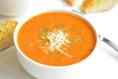 томатный суп пюре с базиликом рецепт