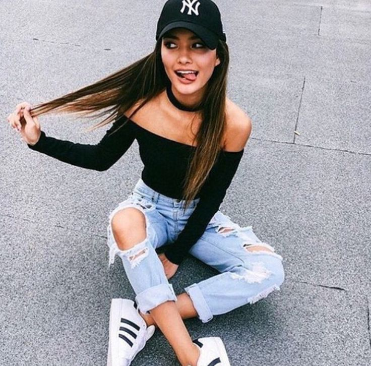 Adidas shoes girl