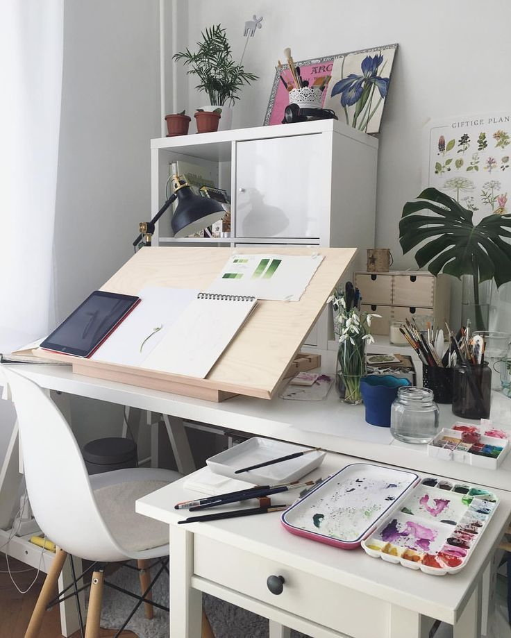 Image Result For Art Desk Inspo Chambre De Studio Art De La