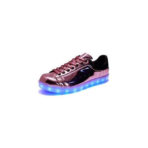 (Present:kleines Handtuch)Weiß 38 Gebühre Sportsschuhe LED Sneaker Damen High-Top athletischen G HDzCpAxn