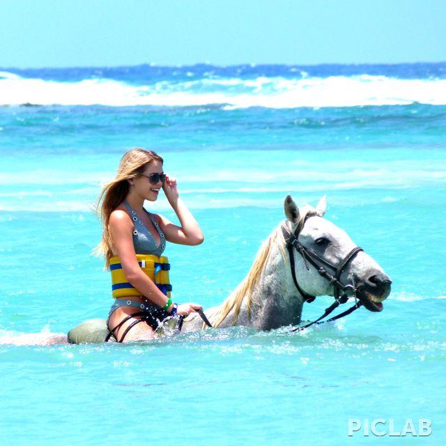 Horseback riding in Falmouth, Jamaica cruiserunners.com