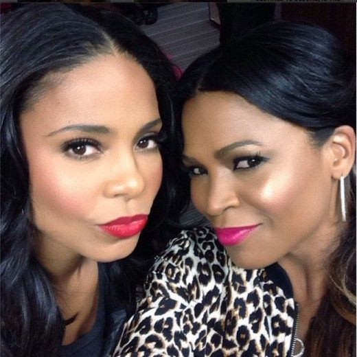 Actress Sanaa Lathan shows us time and time again, why she's the queen of selfies. | essence.com
