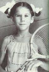 Little Monica Seles