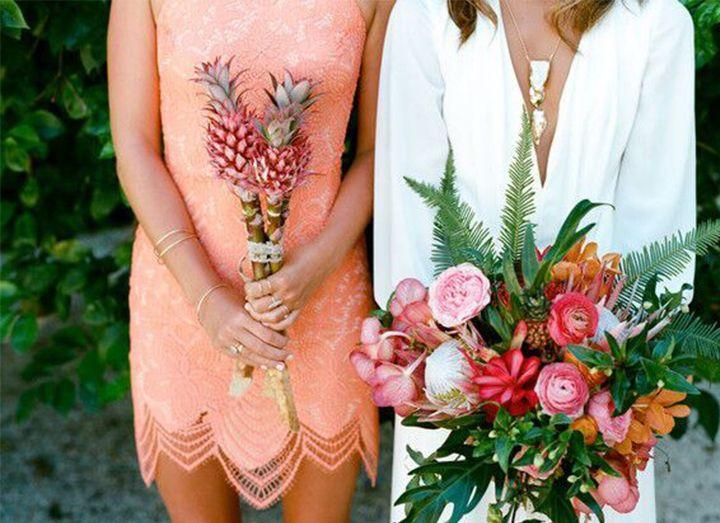 Top 5 Tropical Wedding Bouquets - Mon Cheri Bridals
