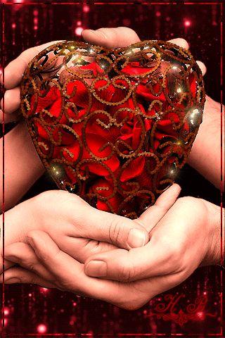 de mãos dadas com o coração - Imagens Brasil