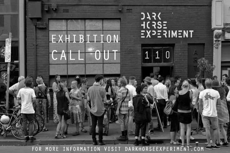 dark horse application exhibition gallery melbourne art