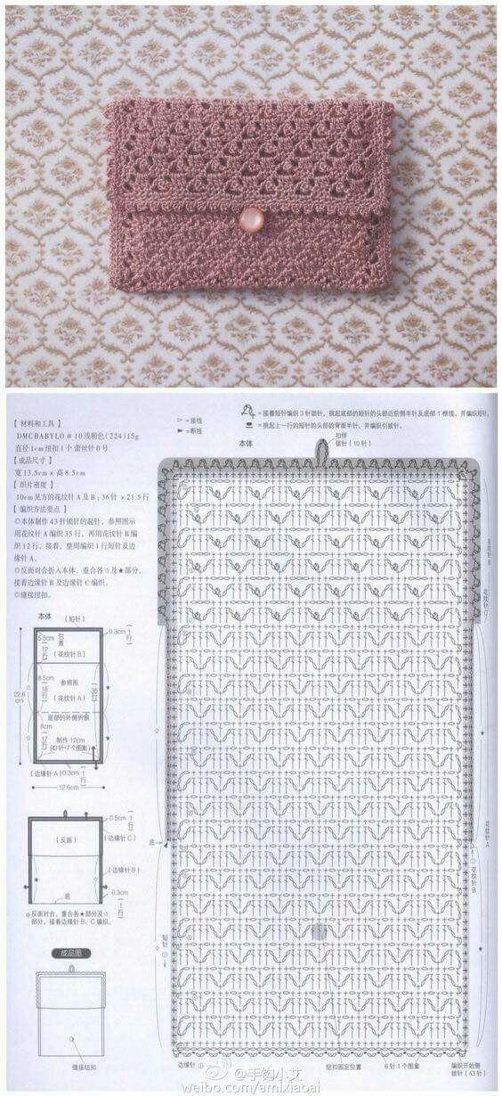 409 best TEJIDO EN CROCHET images on Pinterest | Crochet pattern ...