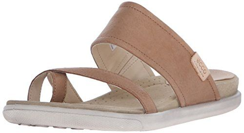 Ecco Footwear Womens Damara Sandal Flip Flop, Camel, 41 EU/10-10.5 M US >>> Details can be found by clicking on the image.