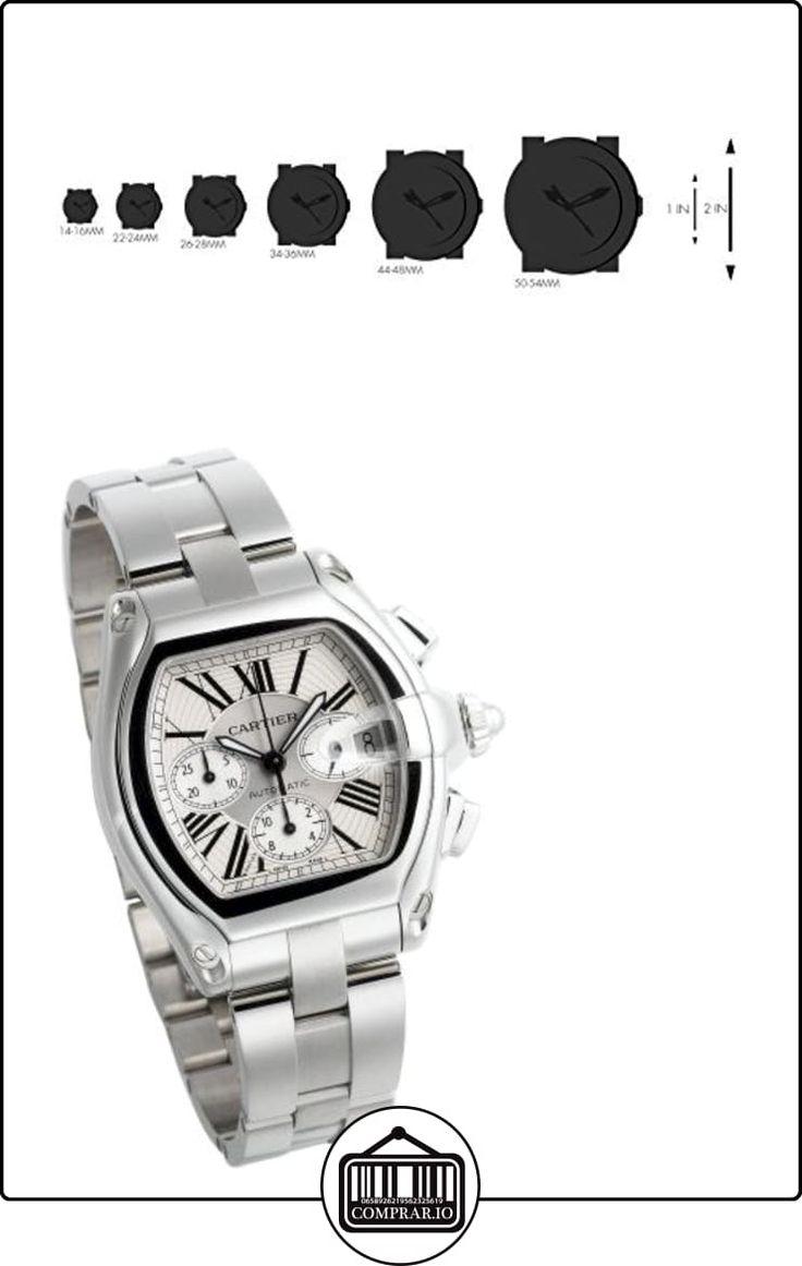 Cartier W62019X6 - Reloj de pulsera hombre, color plateado  ✿ Relojes para hombre - (Lujo) ✿