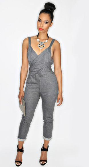 17 Best images about Jumpsuits & Rompers on Pinterest | Halter ...