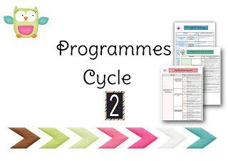 La classe de Virginia: Programmes Cycle 2
