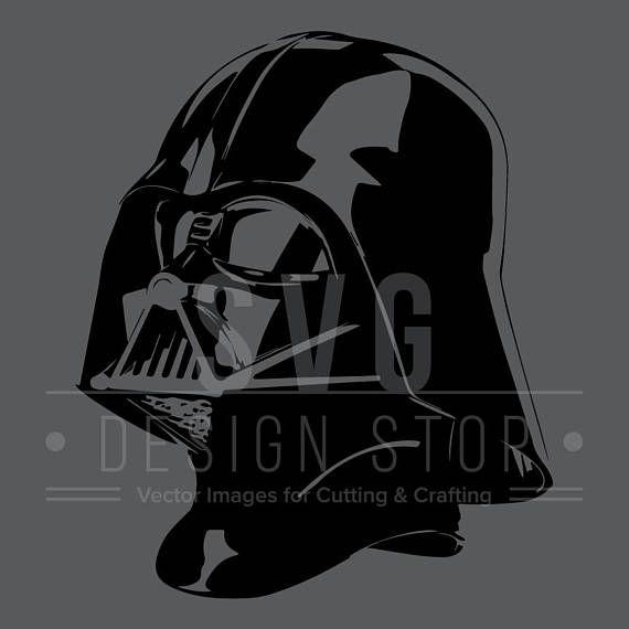 Darth Vader Head Svg Dxf Eps Png Star Wars Svg Files Darth Vader Darth Vader Head Star Wars