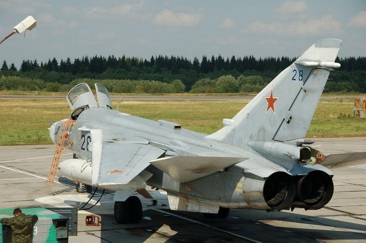 Sukhoi Su-24.