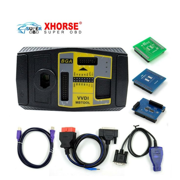 1959.00$  Buy here - http://aiz6g.worlditems.win/all/product.php?id=32721564933 - Original Xhorse V2.1.1 VVDI MB BGA TooL Benz Key Programmer Including BGA Calculator Function Free Shipping by DHL