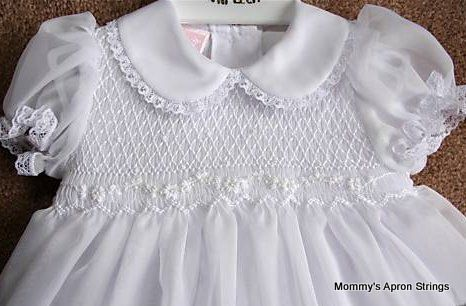 Mommy's Apron Strings: I'm Going to Make a Christening Gown!