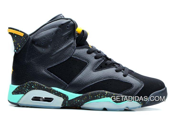 http://www.getadidas.com/women-air-jordan-6-vi-black-green-yellow-topdeals.html WOMEN AIR JORDAN 6 VI BLACK GREEN YELLOW TOPDEALS Only $78.67 , Free Shipping!