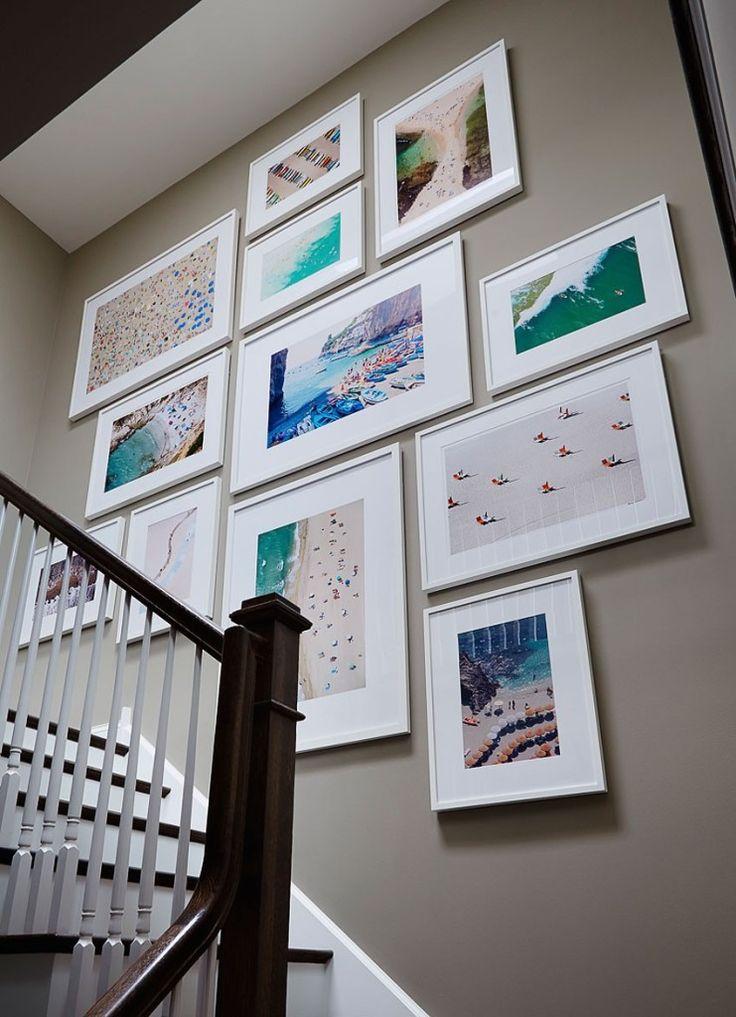 Las 25 mejores ideas sobre paredes de la escalera en - Decoracion paredes escaleras ...