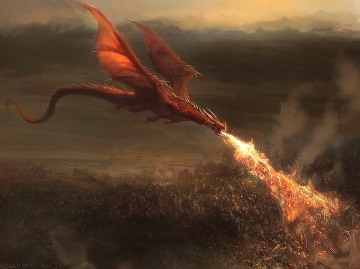 Red dragon by Manzanedo.deviantart.com on @DeviantArt