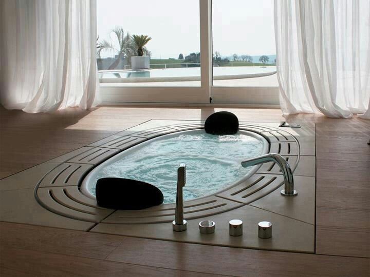 66 best Jacuzzi images on Pinterest   Arquitetura, Bathroom and My house