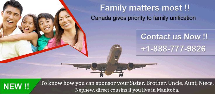 If you have a permanent residency in Canada, you can support certain relatives to come to Canada through sponsorship visa. So, that your relatives can able to live and work over there for sometimes independently.