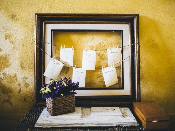 Seating Plan - www.myvintageweddingportugal..com | #weddinginportugal #vintageweddinginportugal #vintagewedding #portugalwedding #myvintageweddinginportugal #rusticwedding #rusticweddinginportugal #thequinta #weddinginsintra