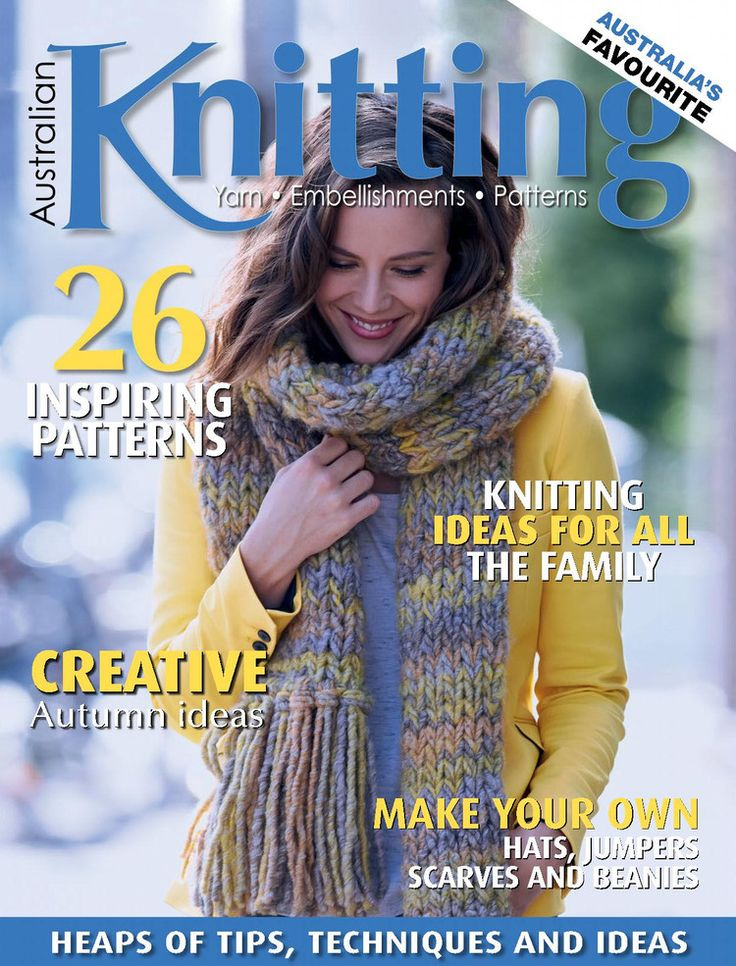 Australian Knitting Volume 8 №1 2016 - 轻描淡写 - 轻描淡写