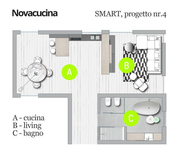 Progetto SMART nr.4 - Pianta #home #design #project