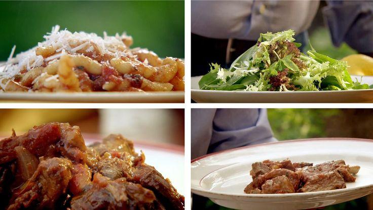 Kjøttgryten med forskjellige sorter kjøtt er vanlig søndagslunsj i mange hjem sør i Italia. Når kjøttgryten er ferdig kokt tas kjøttet til side og pasta blandes med tomatsausen. Kjøttet serveres som hovedrett med en enkel salat etterpå.