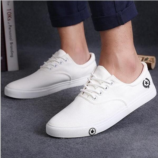 2017 Men's Casual Canvas Shoes